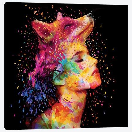 Symbiosis Canvas Print #APA23} by Alessandro Pautasso Art Print