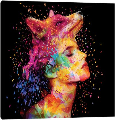 Symbiosis Canvas Art Print