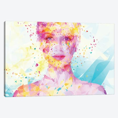 Turquoise Canvas Print #APA24} by Alessandro Pautasso Canvas Artwork