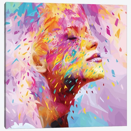 Wild Yellow Canvas Print #APA26} by Alessandro Pautasso Canvas Wall Art