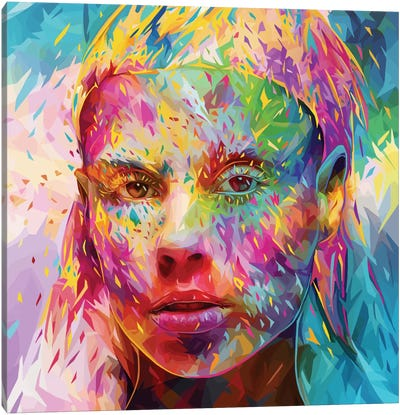 Yolandi Canvas Art Print