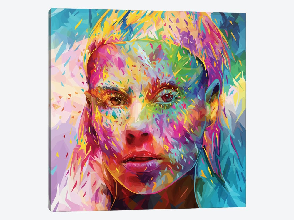 Yolandi by Alessandro Pautasso 1-piece Canvas Art