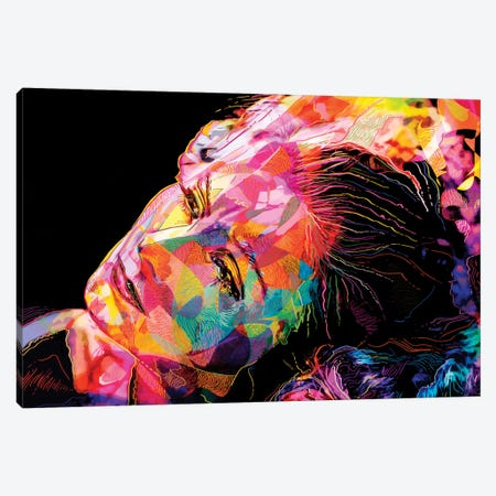 Greta Garbo Canvas Print #APA28} by Alessandro Pautasso Canvas Print