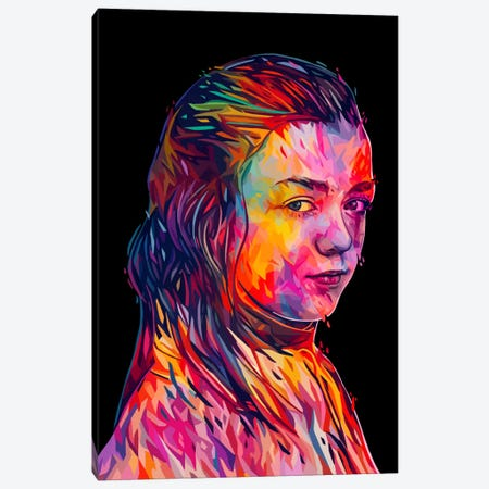 Arya Canvas Print #APA30} by Alessandro Pautasso Canvas Wall Art