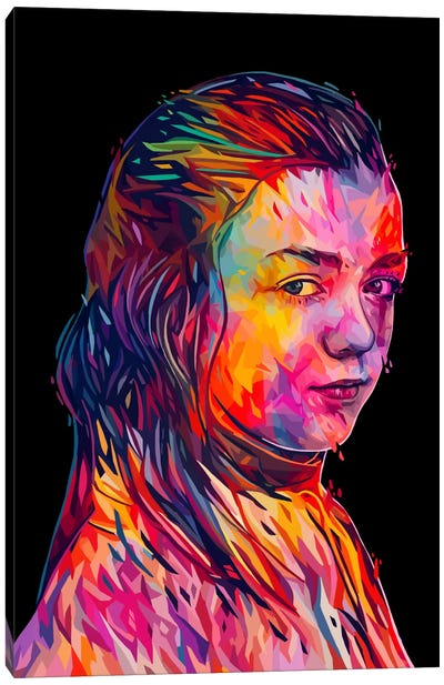 Arya Canvas Art Print