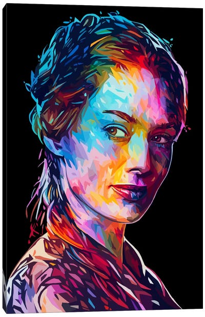 Cersei Canvas Art Print