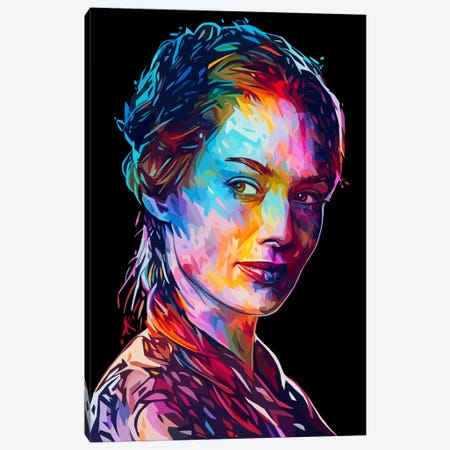 Cersei Canvas Print #APA31} by Alessandro Pautasso Canvas Art