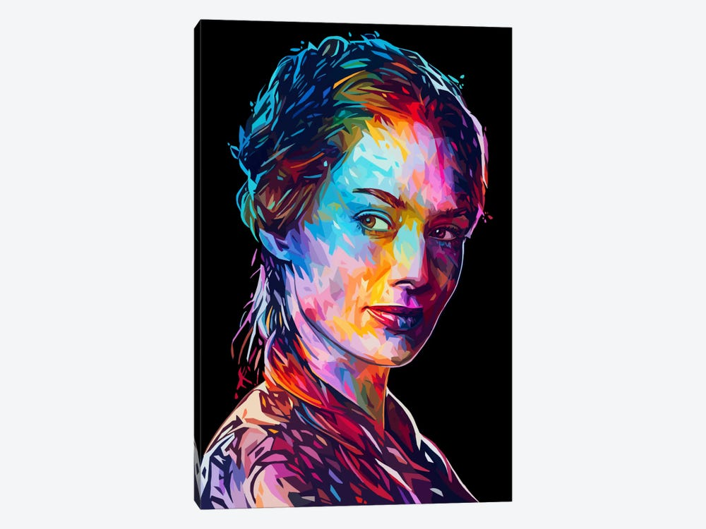 Cersei by Alessandro Pautasso 1-piece Canvas Art Print