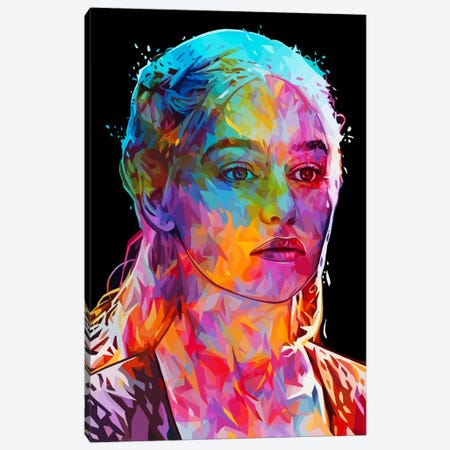 Daenerys Canvas Print #APA32} by Alessandro Pautasso Canvas Wall Art