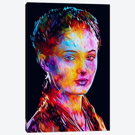 Sansa Canvas Print #APA34} by Alessandro Pautasso Canvas Print