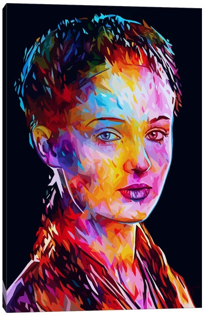 Sansa Canvas Art Print