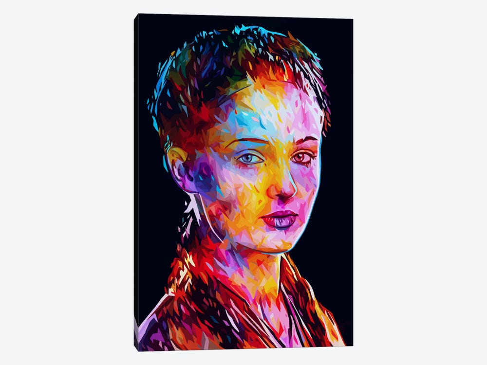 Sansa by Alessandro Pautasso 1-piece Canvas Art