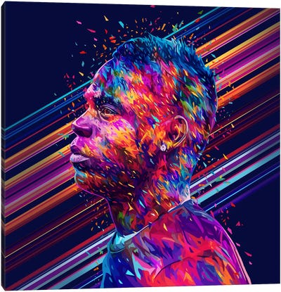 Balotelli Canvas Art Print