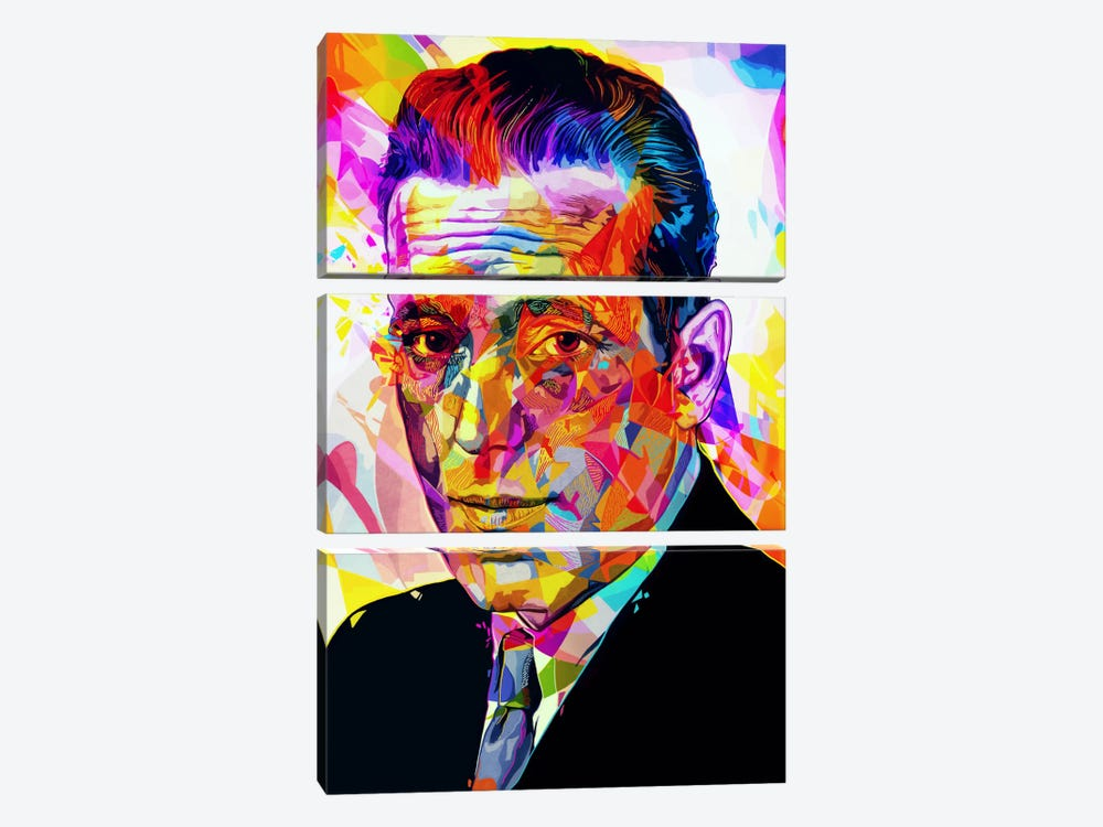 Bogart by Alessandro Pautasso 3-piece Art Print