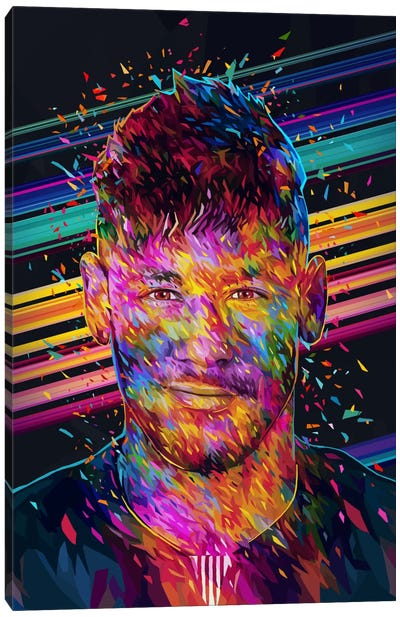Neymar Jr. Canvas Art Print