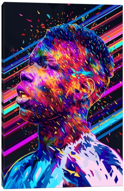 Pogba Canvas Art Print