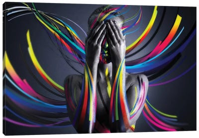 United Colors I Canvas Art Print