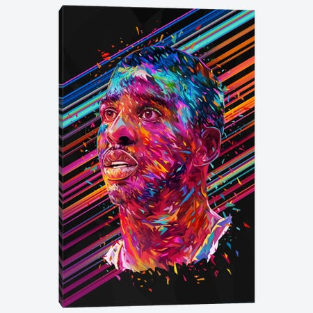 Chris Paul Canvas Print #APA44} by Alessandro Pautasso Canvas Artwork