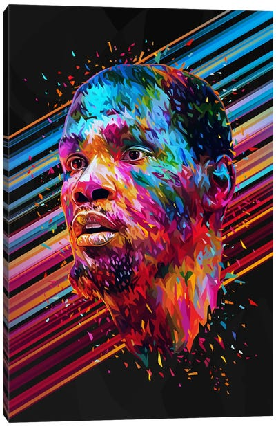 Kevin Durant Canvas Art Print