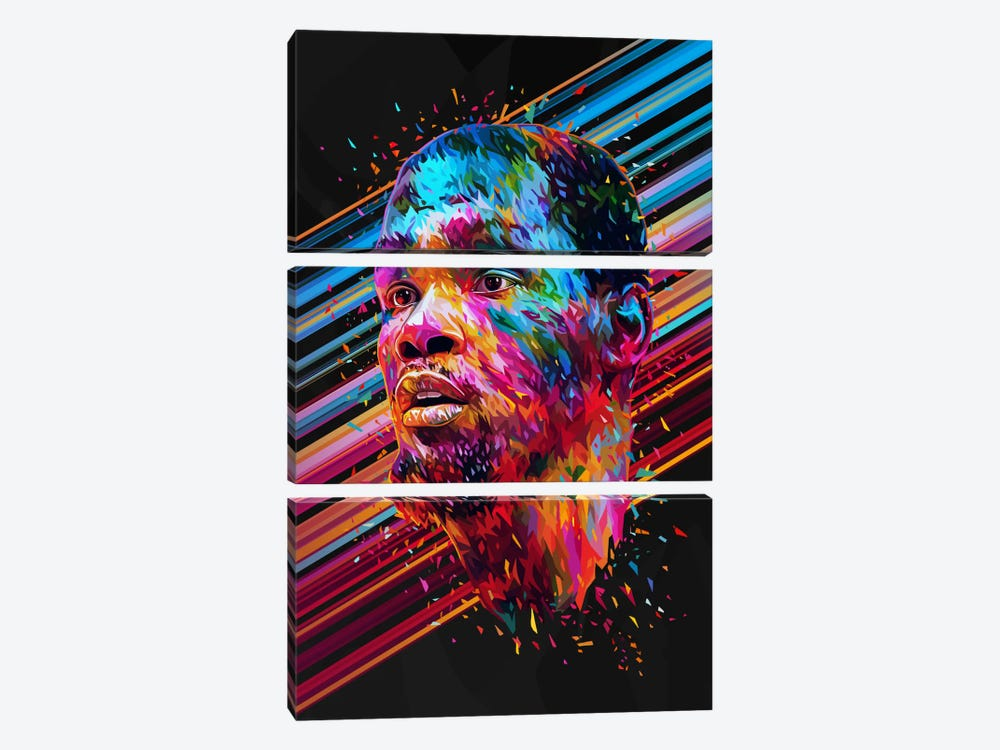 Kevin Durant by Alessandro Pautasso 3-piece Art Print