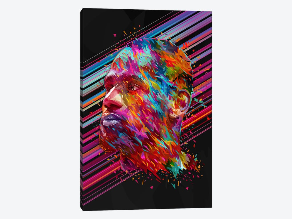 LeBron James by Alessandro Pautasso 1-piece Canvas Art