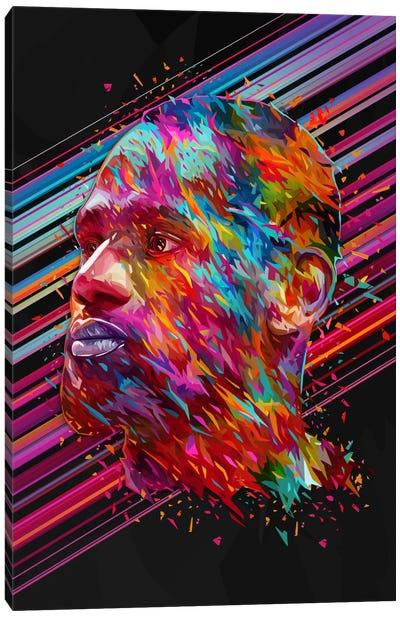 LeBron James Canvas Art Print