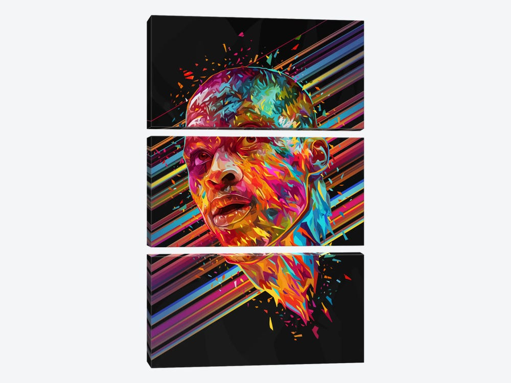 Russell Westbrook by Alessandro Pautasso 3-piece Art Print