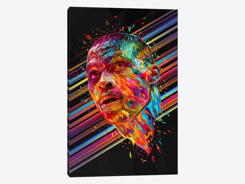 Russell Westbrook by Alessandro Pautasso 1-piece Canvas Print