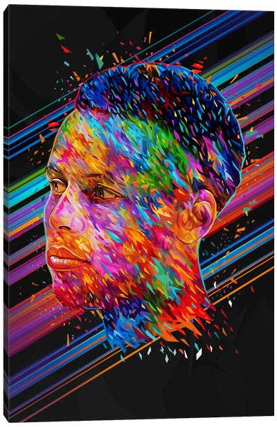 Stephen Curry Canvas Print #APA49