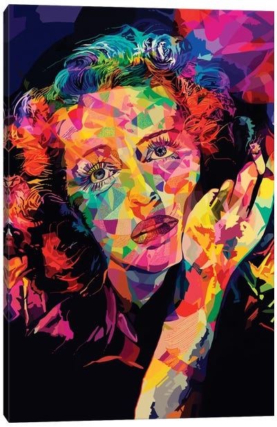 Bette Alternate Canvas Art Print