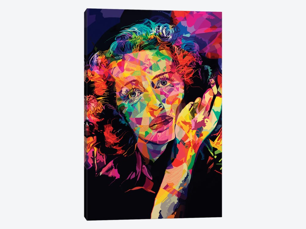 Bette Alternate by Alessandro Pautasso 1-piece Canvas Print