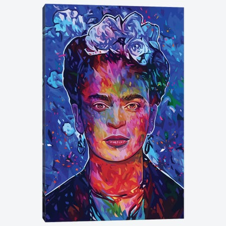 Frida Canvas Print #APA50} by Alessandro Pautasso Canvas Artwork