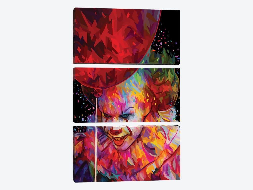 It by Alessandro Pautasso 3-piece Canvas Print
