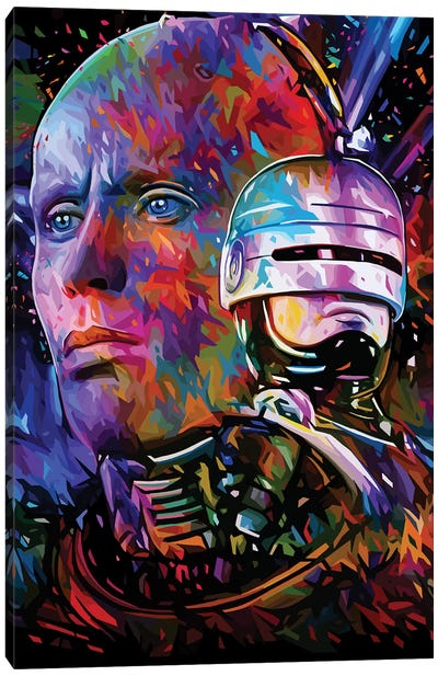 Robocop Canvas Art Print