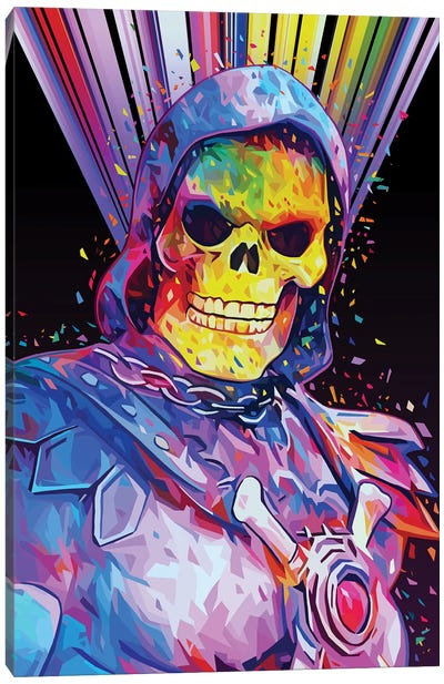 Skeletor Canvas Art Print