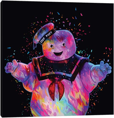 Stay-Puft Canvas Art Print