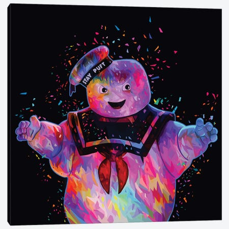 Stay-Puft Canvas Print #APA55} by Alessandro Pautasso Canvas Art Print