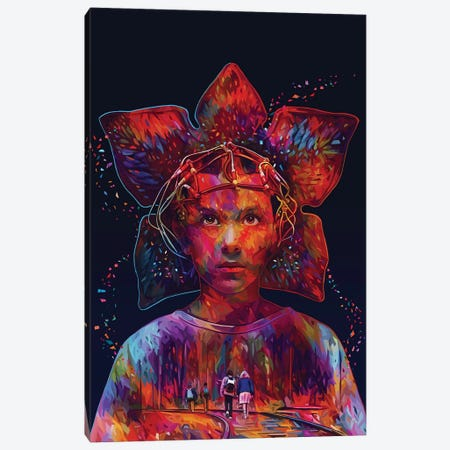 Stranger Things Canvas Print #APA56} by Alessandro Pautasso Art Print