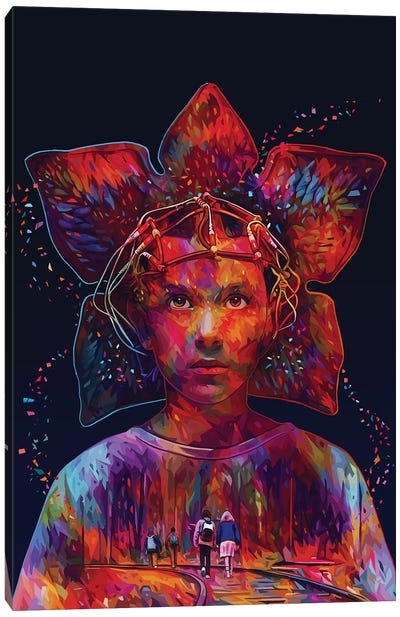 Stranger Things Canvas Art Print