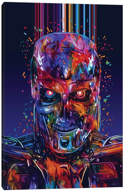 T800 Canvas Art Print