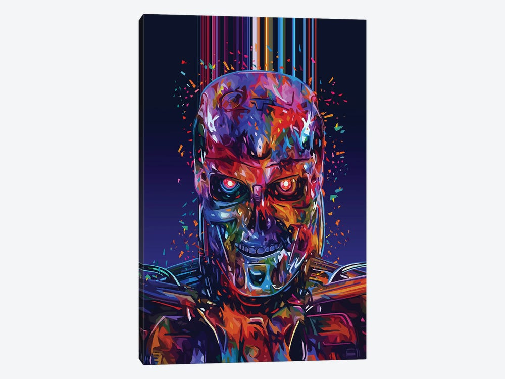 T800 by Alessandro Pautasso 1-piece Canvas Print