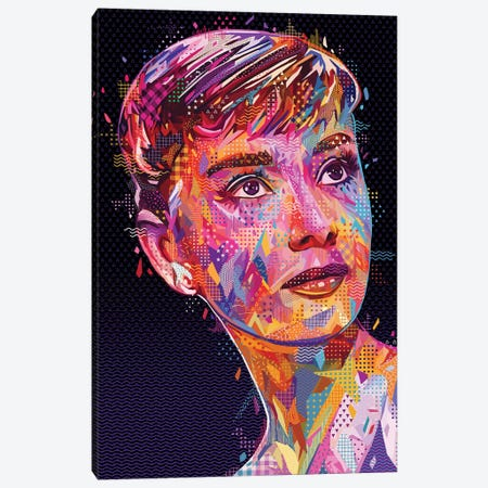 Audrey  Canvas Print #APA58} by Alessandro Pautasso Canvas Artwork