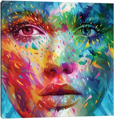 Bold Canvas Art Print