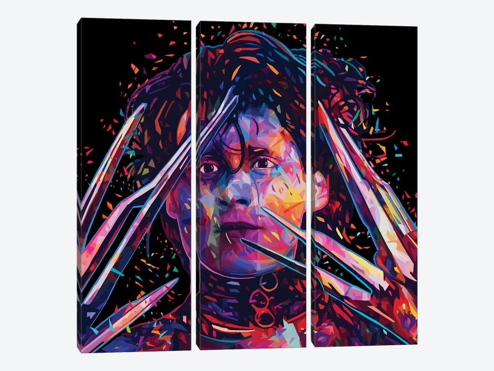 Edward by Alessandro Pautasso 3-piece Canvas Art