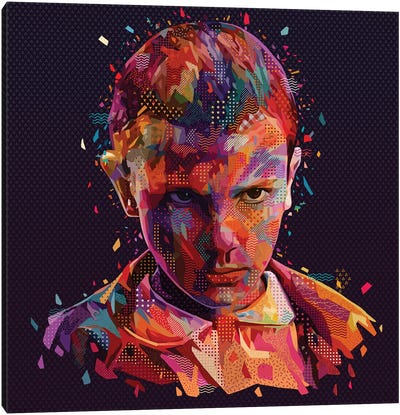 Eleven I Canvas Art Print