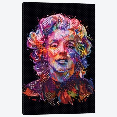 Marilyn 2018 Canvas Print #APA64} by Alessandro Pautasso Canvas Art