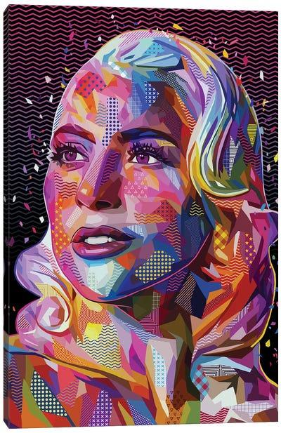 Lady Gaga Pop Canvas Art Print