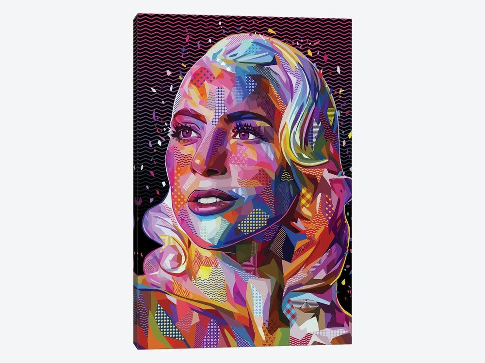 Lady Gaga Pop by Alessandro Pautasso 1-piece Canvas Artwork