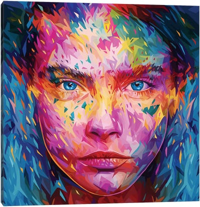 Cara Canvas Art Print