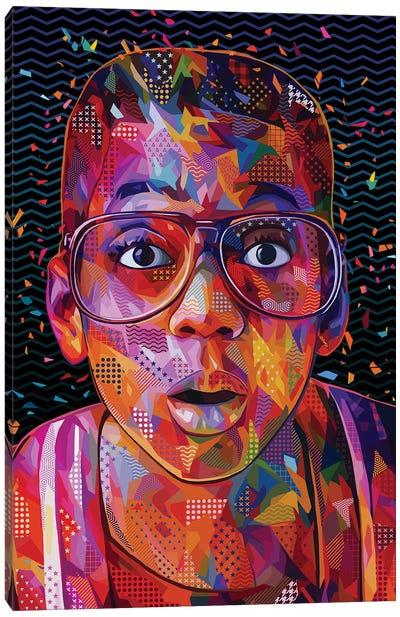 Steve Urkel Pop Canvas Art Print